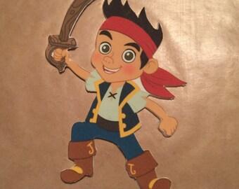 Jake and the Neverland Pirates Fondant Cake Topper