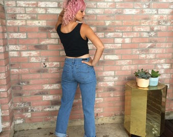 Vintage 90's LEE Relaxed Fit Slouchy Mom Jeans 6
