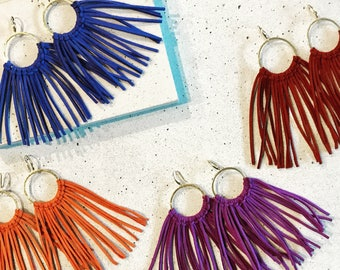 The Fringe Tassel Earring Set