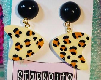 Bettie's Boomerang Drop earrings