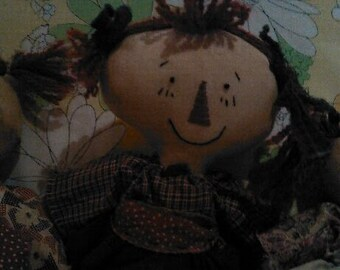 "Petite 13"" Handmade Rag Doll"