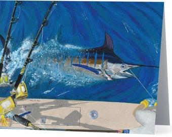 2nd Series Ocean Art on Note Card
