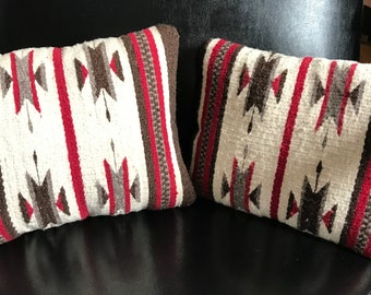 Southwestern style Mexican pillows