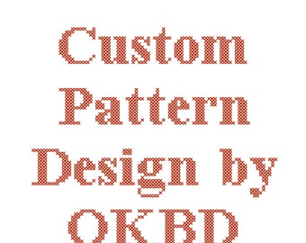 Custom Cross Stitch Pattern Design, Custom Cross Stitch Design, Custom Cross Stitch Schema, Custom counted cross stitch design