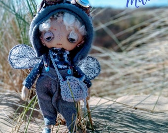 Milo, a one of a kind little steampunk sand doodle dune bug