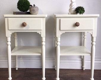 AVAILABLE - Ethan Allen Nightstands / End Tables