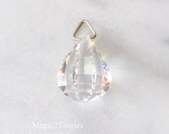 25pcs 30mm Sparkle Bling Clear Chandelier Crystal Prisms Pendants Ball Decor Transparent Ornament Craft Supplies Design Window Display