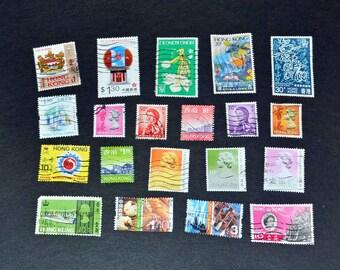 Hong kong 60 stamps