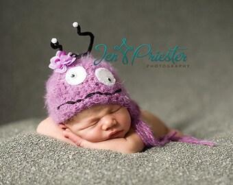 Baby Hat, Newborn Hat, Monster Hat, Baby Photo Prop, Newborn Photo Prop, Photography Prop