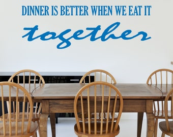 Together - Vinyl Wall Quote Decal