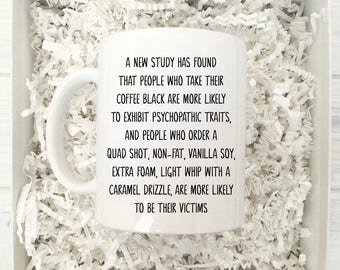 A New Study has Found Ceramic Coffee Mug | Gift for Coffee Drinker | Ceramic Mug | Coffee Mugs with Sayings | 11 oz 15 oz Coffee Mug | Funny