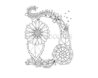 Coloring Pictures Of Letter D - Worksheet & Coloring Pages