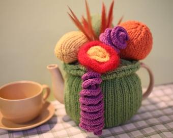 Tea Cosy Knitting Carmen Miranda