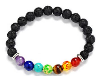 Chakra/Mala Bracelet with your choice of essential oil