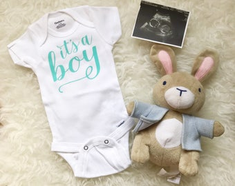 'It's A Boy' Onesie
