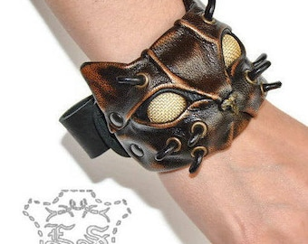 Gift for women - Gift for her - Gift for him - Steampunk - Steampunk jewelry - Steampunk cuff - Сat bracelet