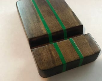 Handmade Wood Cell Phone Stand