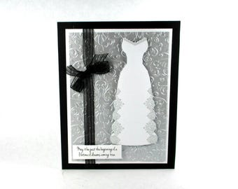 Bridal shower cards, wedding gown, wedding dress, wedding cards, Congratulations to the bride
