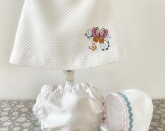 Embroidered Baby Dress for a little girl