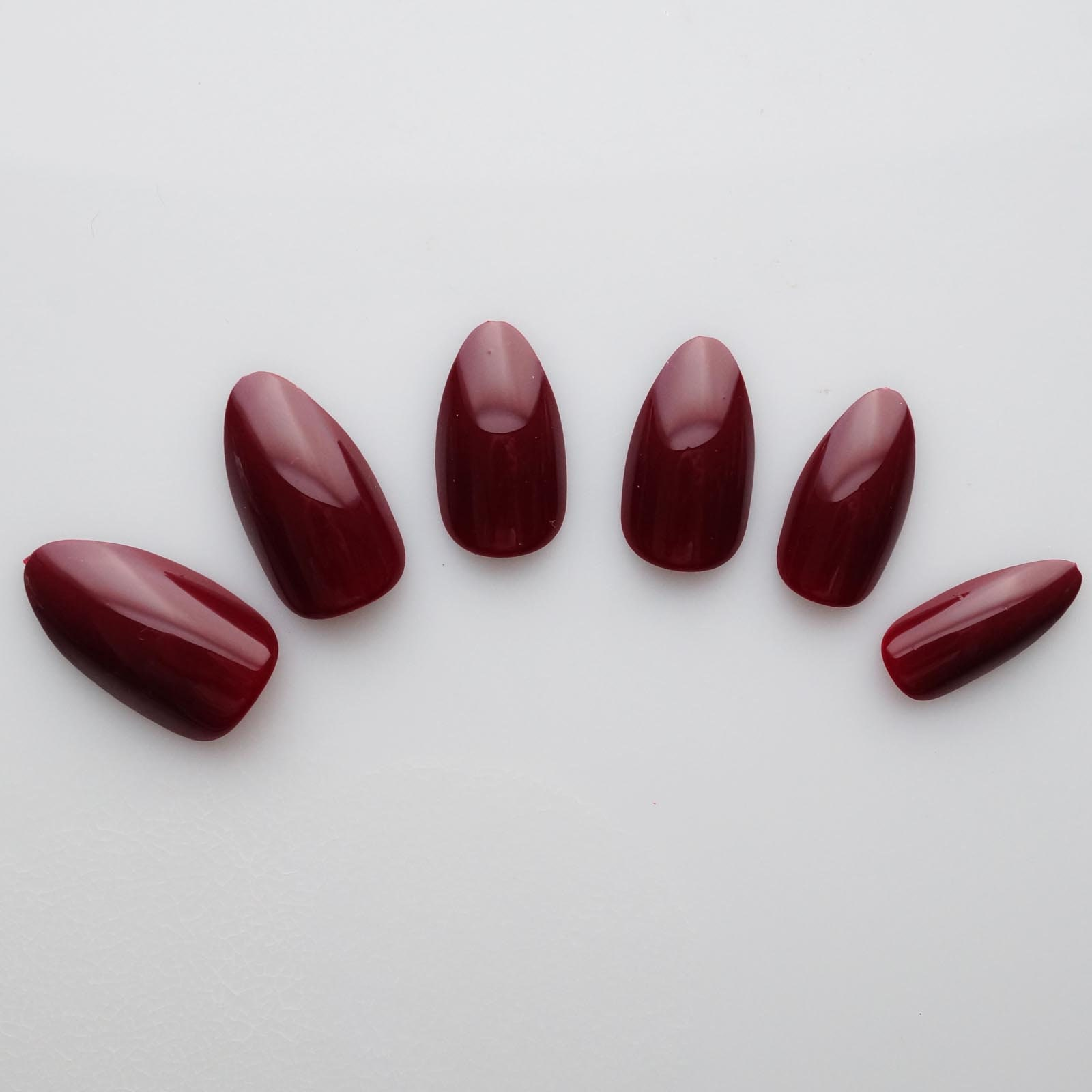 24 False Nails Color Nails Stiletto Nails High Quality