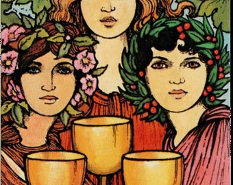A Three Card Past, Present, And Future Tarot Reading