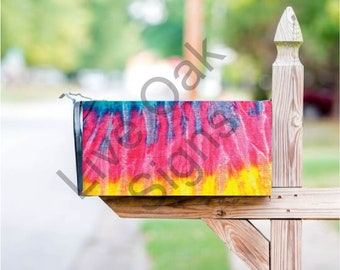 Tie-Die Mailbox Cover - Free Shipping