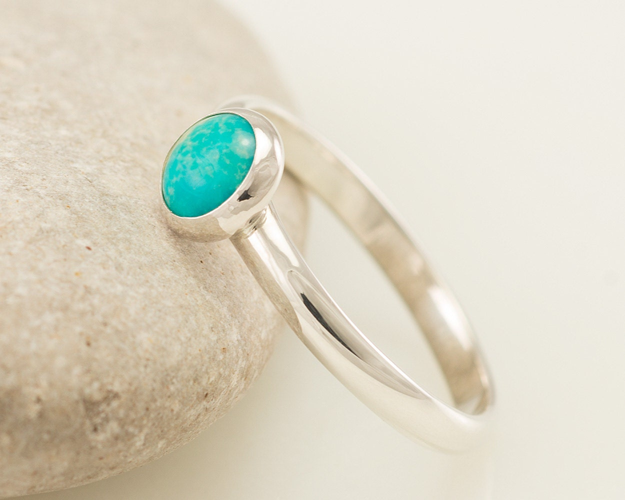 and product page turquoise stone silver band beauty sleeping com qvc sterling rings ring