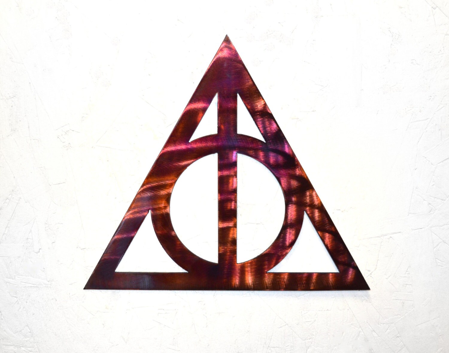 Plasma cut deathly hallows metal wall art biocorpaavc Images