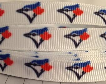 3/8 Canadian Baseball Ribbon-3 Yards