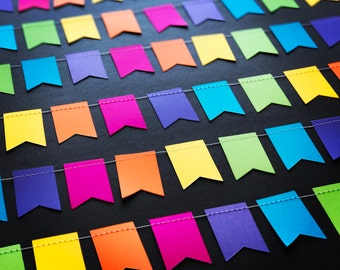 Colourful Dovetail Pennant Garland