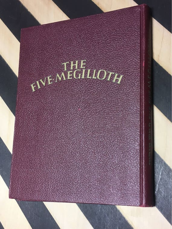 The Five Megilloth with illustrations by Siegmund Forst (Hardcover, 1948) vintage book
