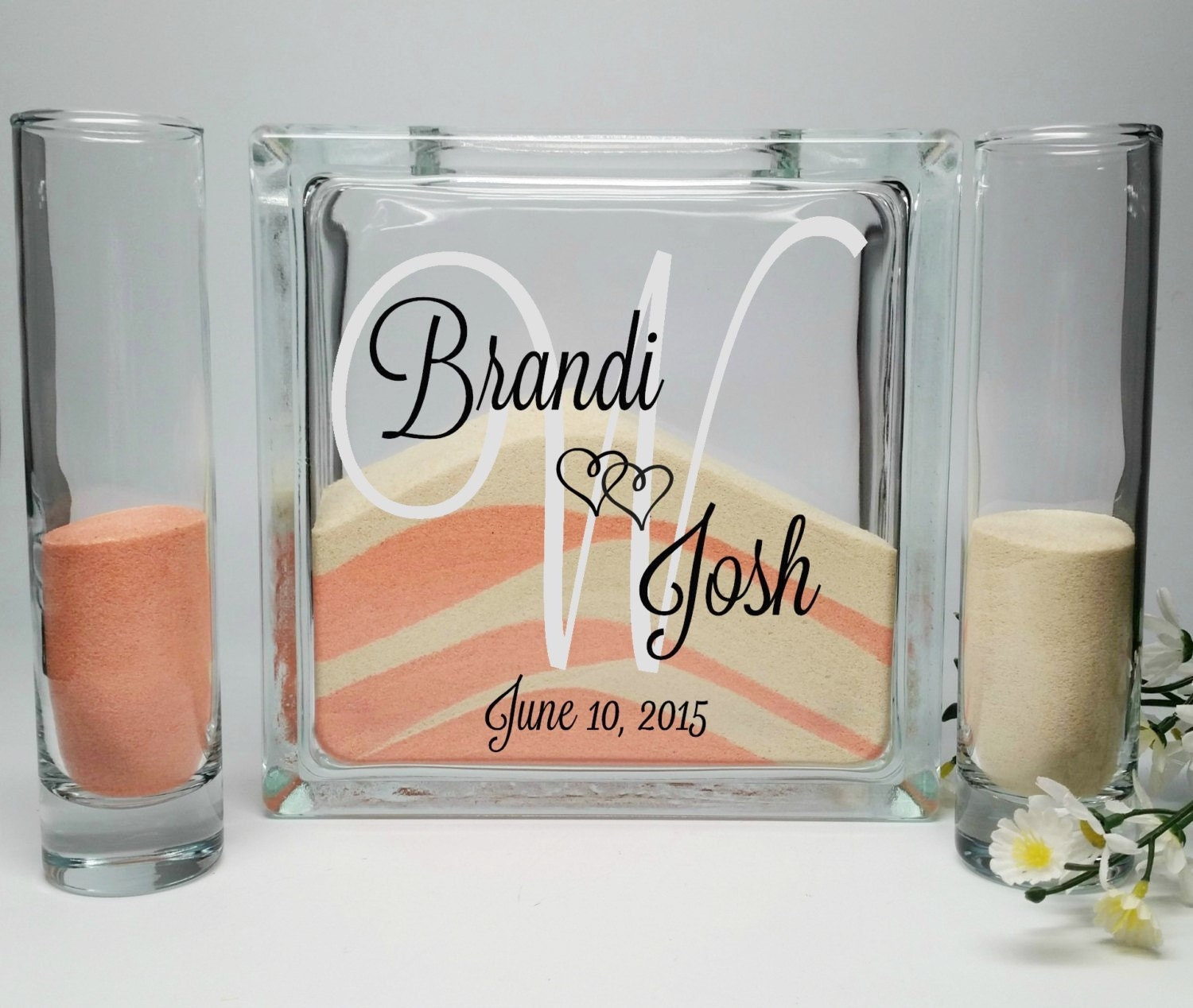 Beach Wedding Candle Ceremony: Sand Ceremony Set Unity Sand Vase Sand Shadow Box Kit
