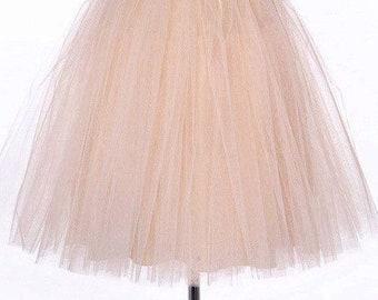 Kid Tulle Skirt Knee Lenght