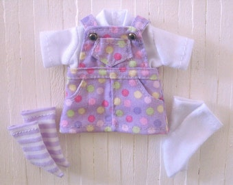 confetti dress overalls