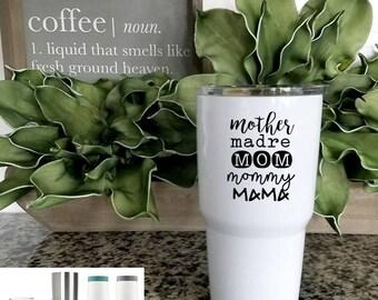 All the Names: Mom Travel Mug