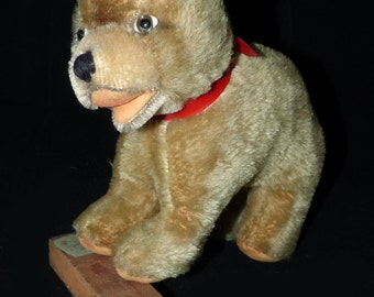 Antique Mohair Standing Teddy Bear