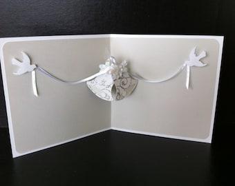Wedding Bells  - pop up Wedding card
