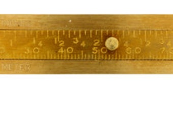 One Piece of Brass Calipers - Tool - Measurement