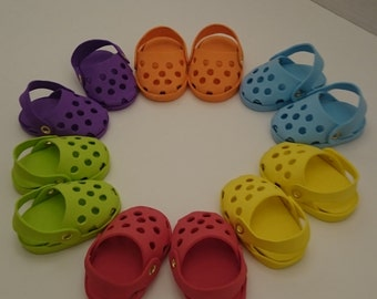 Doll Clogs to fit 18 Inch Dolls such as an American Girl and Other Similar Dolls