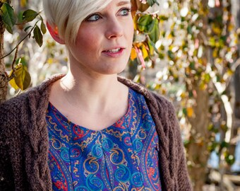 Fair Trade Paisley Print Tunic