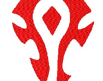For the Horde - 4x4 Embroidery File