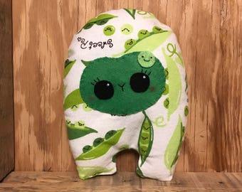 Sweet Pea Huggle | Cute Monster Plush, Cute Stuffed Toy, Stuffed Animal, Handmade Plush Toy