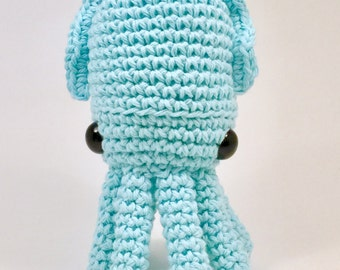 Crochet Cuttlefish pattern, Amigurumi, Stuffed Toy, Cuttlefish Plush, Cuttlefish Plushie, Stuffed Animal, Cuttlefish Toy