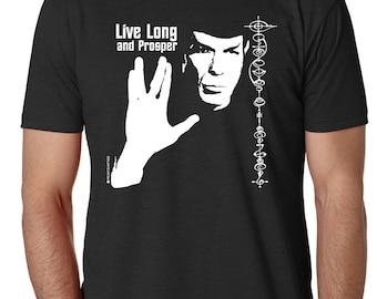 Live Long and Prosper - Black
