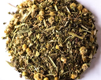 LULLABY TEA (Organic Loose Leaf Herbal Tea Blend for Sleep) Larger Sizes