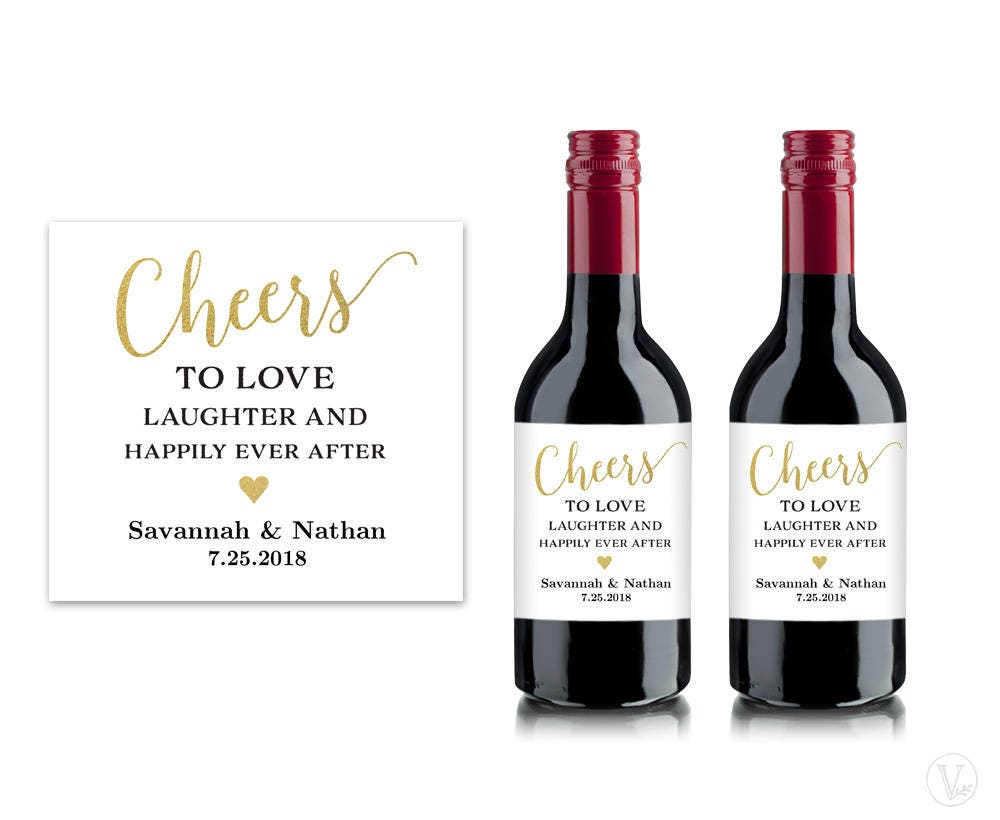 Mini Wine Bottle Labels Printable Wine Bottle Label Template