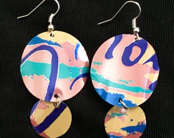 Sunset Recycled Aluminum Earrings