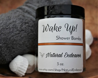 Wake Up Shower Bombs, *Shower Bombs, *Morning Shower Bombs * Mother's Day Gift * Father's Day Gift