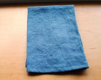 Linen Dish Towel Gray Kitchen Towel Guest Towel Tea Towel Hand Towel