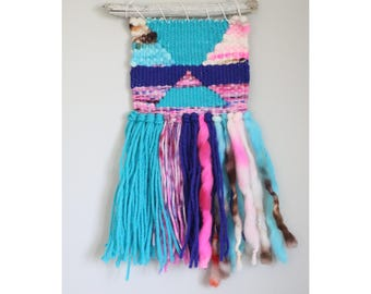 Mini Weaving/Woven Wall Hanging